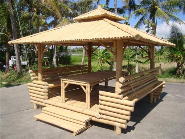 acheter un gazebo a bali gazebos de bali expot par. Black Bedroom Furniture Sets. Home Design Ideas